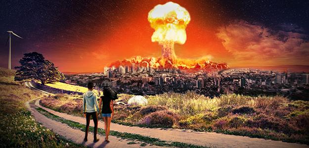 Apokalipsa, budowa osady czy firmowa sztuka teatralna?
