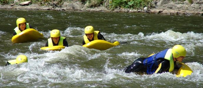 Hydrospeed na Dunajcu