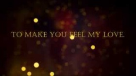 Adele - Make You Feel My Love Lyrics HD